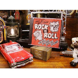音楽CD JUST GO WILD OVER ROCK 'N' ROLL アメリカ雑貨 アメリカン雑貨|candytower