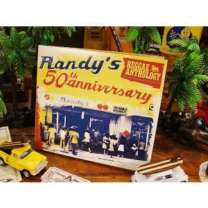 音楽CD ランディーズ50周年記念 レゲエアンソロジー CD2枚組+特典DVD1枚 アメリカ雑貨 アメリカン雑貨|candytower