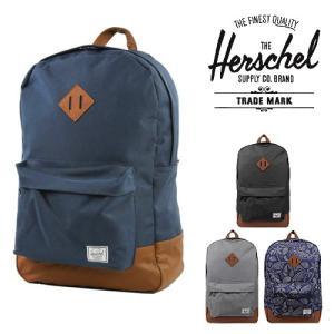ハーシェルサプライ Herschel supply HERITAGE ヘリテージバッグパック(4色)【10007】|canetshop