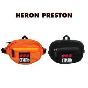 HERON PRESTON バッグ ヘロンプレストン ボディバッグ ウエストバッグ FANNY PACK DOTS CTNMB BLACK MULICOLOR (全2色) 【HMNA001F19816004】|canetshop