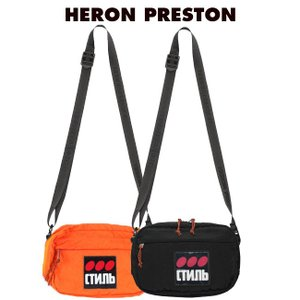 HERON PRESTON バッグ ヘロンプレストン ボディバッグ サコッシュ CAMERA BAG DOTS CTNMB BLACK MULTICOLOR (全2色) 【HMNA011F19816004】|canetshop