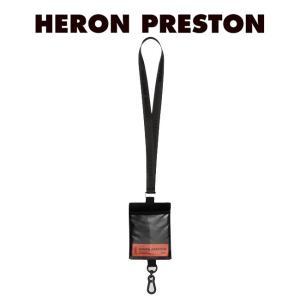 HERON PRESTON ネックストラップ ヘロンプレストン PASSPORT KEYCHAIN HOLDRE BLACK NO COLOR (1000/BLACK) 【HMNF004F198160251000】|canetshop