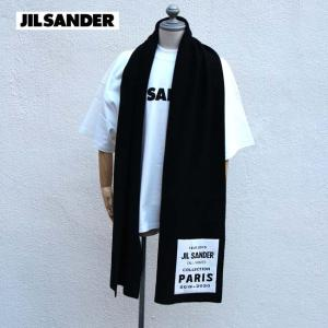 JIL SANDER ジルサンダー マフラー  LOGO BOX SCARF ロゴスカーフ  【JSMP751121MPY20028】|canetshop