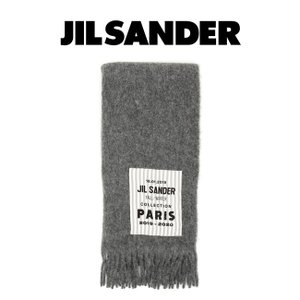 JIL SANDER ジルサンダー マフラー  LOGO BOX SCARF ロゴスカーフ  【JSMP905001-MP139000】|canetshop