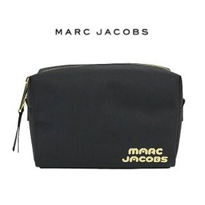 MARC JACOBS マークジェイコブス コスメティックポーチ 化粧ポーチ COSMETIC CASE (001 / BLACK)【M0014272】|canetshop