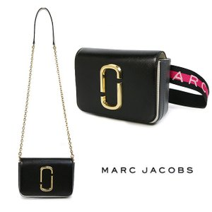 MARC JACOBS マークジェイコブス ショルダーバッグ ボディバッグ Hip Shot snap shot (002 / BLACK MULTI)【M0014319】|canetshop