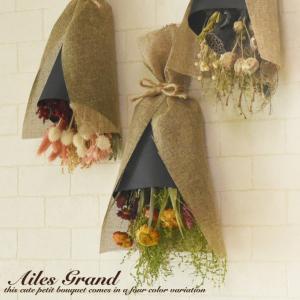 ドライフラワー スワッグ  Ailes Grand   アンティーク セット インテリア ブーケ アレンジ  花束 花  壁掛け  ギフト フレンチ カントリー