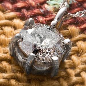 プラチナPt900 1.2ctダイヤモンドペンダント/ネックレス(鑑別書付き)|canitz