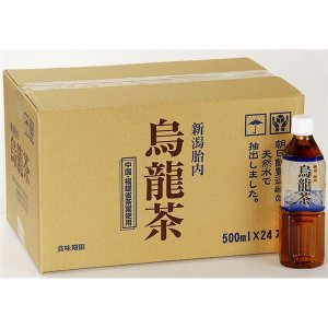 新潟 胎内高原の烏龍茶 500ml×48本 ペットボトル|canitz