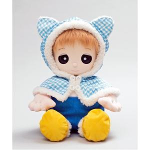 夢コレ46 猫耳付きポンチョドレス canitz
