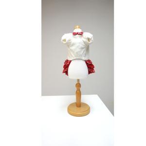 犬 服 ワンピース リボン 秋冬 ツイード 犬の服 きゃんナナ ドッグウェア ブランド|cannanaonline|06