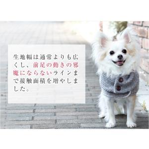 犬 服 秋冬 防寒 犬の服 ニット 裏ボア きゃんナナ ドッグウェア ブランド cannanaonline 07