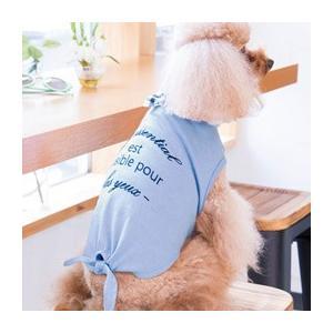犬 服 Tシャツ 夏 春 フレンチテイスト 犬の服  きゃんナナ ドッグウェア ブランド|cannanaonline|04