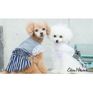 犬 服 ワンピース 春夏 犬の服  きゃんナナ ドッグウェア ブランド クール コーデワンピース|cannanaonline|04