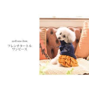 犬 服 ワンピース 秋 冬 ニット 犬の服 きゃんナナ ドッグウェア ブランド|cannanaonline|02
