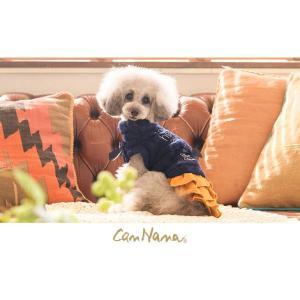 犬 服 ワンピース 秋 冬 ニット 犬の服 きゃんナナ ドッグウェア ブランド|cannanaonline|10
