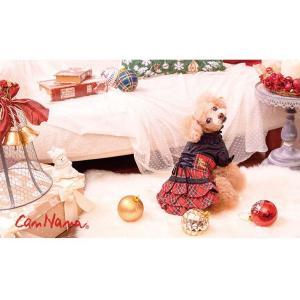 犬 服 ワンピース 秋 冬 チェック 犬の服 きゃんナナ ドッグウェア ブランド|cannanaonline|07