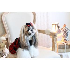 犬 服 ワンピース 秋 冬 チェック 犬の服 きゃんナナ ドッグウェア ブランド cannanaonline 09