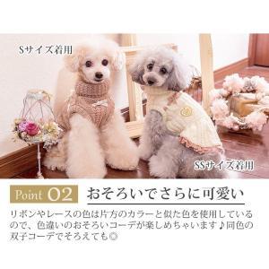 犬 服 ワンピース ニット 秋 冬 防寒 犬の服 きゃんナナ ドッグウェア ブランド cannanaonline 03