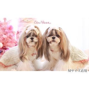 犬 服 ワンピース ニット 秋 冬 防寒 犬の服 きゃんナナ ドッグウェア ブランド cannanaonline 04