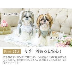 犬 服 春 夏 ワンピース リボン 犬の服 新作 きゃんナナ ドッグウェア ブランド|cannanaonline|04