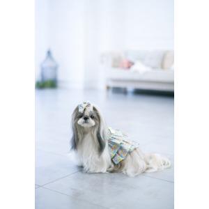 犬 服 春 夏 ワンピース 花柄 フリル 犬の服 きゃんナナ ドッグウェア ブランド|cannanaonline|12