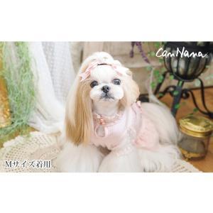 犬 服 春 夏 ワンピース ドット ガーリー 犬の服 きゃんナナ ドッグウェア ブランド|cannanaonline|02