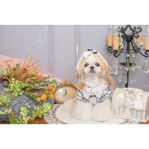 犬 服 春 夏 ワンピース エレガント フリル 犬の服  きゃんナナ ドッグウェア ブランド|cannanaonline|12