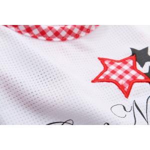 犬 服 春 夏 Tシャツ ニコちゃん スマイル マーク メッシュ 犬の服 新作 きゃんナナ ドッグウェア ブランド|cannanaonline|10