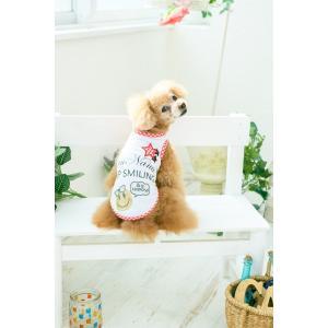 犬 服 春 夏 Tシャツ ニコちゃん スマイル マーク メッシュ 犬の服 新作 きゃんナナ ドッグウェア ブランド|cannanaonline|12