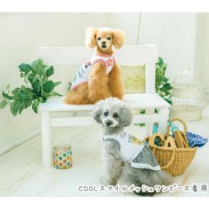 犬 服 春 夏 Tシャツ ニコちゃん スマイル マーク メッシュ 犬の服 新作 きゃんナナ ドッグウェア ブランド|cannanaonline|13