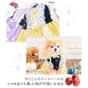 犬 ドレス プリンセス 撮影 お出かけ きゃんナナ ドッグウェア ブランド|cannanaonline|04