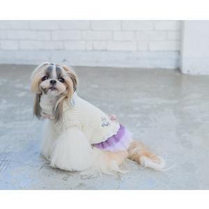 犬 服 ワンピース 秋 冬 ニット 犬の服 新作 きゃんナナ ドッグウェア ブランド|cannanaonline|11