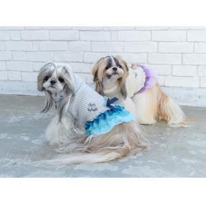 犬 服 ワンピース 秋 冬 ニット 犬の服 新作 きゃんナナ ドッグウェア ブランド|cannanaonline|12