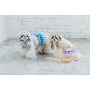 犬 服 ワンピース 秋 冬 ニット 犬の服 新作 きゃんナナ ドッグウェア ブランド|cannanaonline|13
