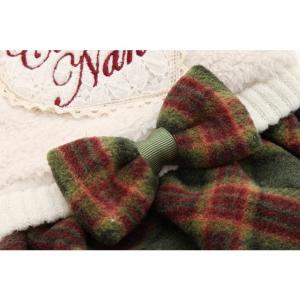 犬 服 ワンピース 秋 冬 ボア 犬の服 新作 きゃんナナ ドッグウェア ブランド|cannanaonline|09
