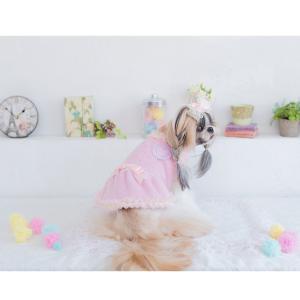 犬 服 ワンピース 秋 冬 ふわもこ 犬の服 新作 きゃんナナ ドッグウェア ブランド cannanaonline 13