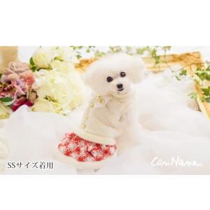 犬 服 ワンピース 秋 冬 ファー 犬の服 新作 きゃんナナ ドッグウェア ブランド|cannanaonline|10