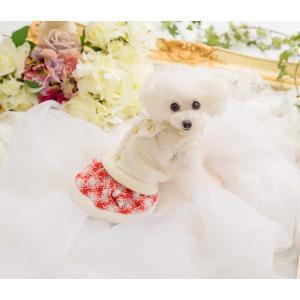犬 服 ワンピース 秋 冬 ファー 犬の服 新作 きゃんナナ ドッグウェア ブランド|cannanaonline|11
