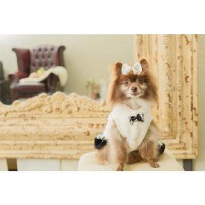 犬 服 ワンピース 秋 冬 ファー 犬の服 新作 きゃんナナ ドッグウェア ブランド|cannanaonline|12