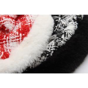 犬 服 ワンピース 秋 冬 ファー 犬の服 新作 きゃんナナ ドッグウェア ブランド|cannanaonline|05