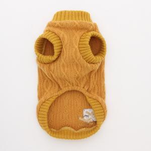 犬 服 ニット 秋 冬 カジュアル 犬の服 新作 きゃんナナ ドッグウェア ブランド|cannanaonline|04