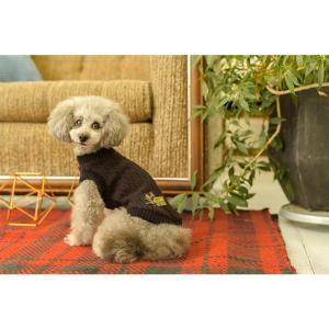 犬 服 ニット 秋 冬 カジュアル 犬の服 新作 きゃんナナ ドッグウェア ブランド|cannanaonline|08