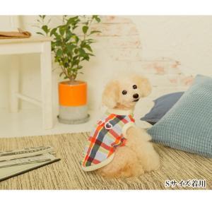犬 服 カジュアル 秋 冬 チェック フリース 犬の服 新作 きゃんナナ ドッグウェア ブランド cannanaonline 11