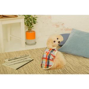 犬 服 カジュアル 秋 冬 チェック フリース 犬の服 新作 きゃんナナ ドッグウェア ブランド cannanaonline 12