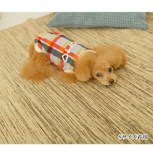 犬 服 カジュアル 秋 冬 チェック フリース 犬の服 新作 きゃんナナ ドッグウェア ブランド cannanaonline 14