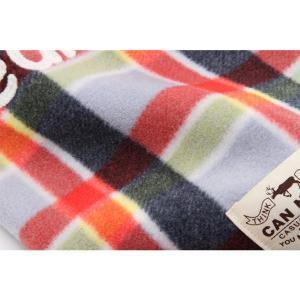 犬 服 カジュアル 秋 冬 チェック フリース 犬の服 新作 きゃんナナ ドッグウェア ブランド cannanaonline 07
