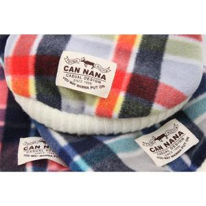 犬 服 カジュアル 秋 冬 チェック フリース 犬の服 新作 きゃんナナ ドッグウェア ブランド cannanaonline 08