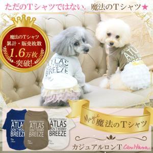 犬 服   適温キープ アウトラスト ロンT  犬の服 新作 きゃんナナ ドッグウェア ブランド cannanaonline
