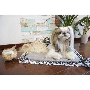 クール マット ひんやり ペット  犬 チェック  WEB限定 きゃんナナ ドッグウェア ブランド|cannanaonline|05